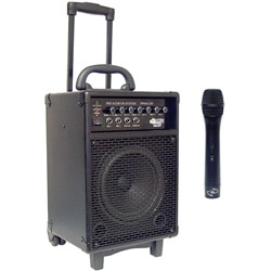 Pyle PWMA230 200-watt Wireless Battery-powered PA System