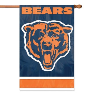 Chicago Bears Official Banner FlagOfficial Chicago Flag