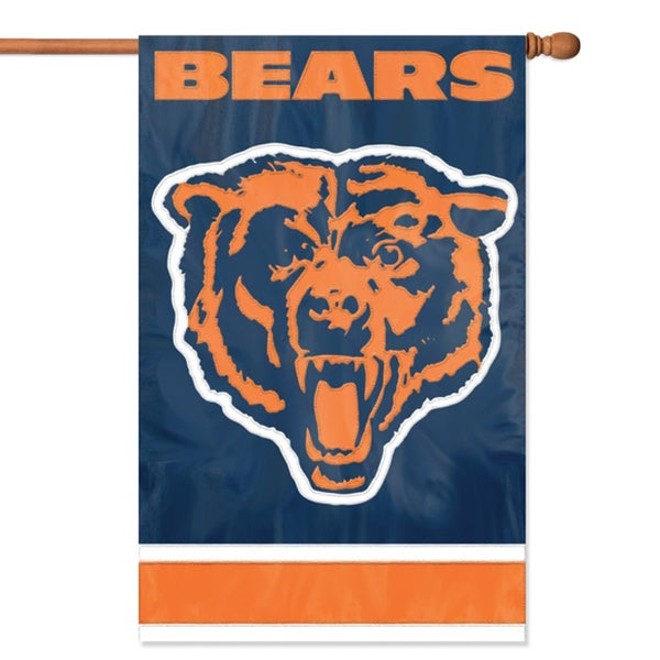 Chicago Bears Official Banner Flag