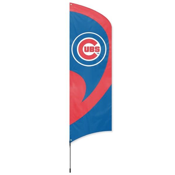 Chicago Cubs 8-foot Team Banner Flag