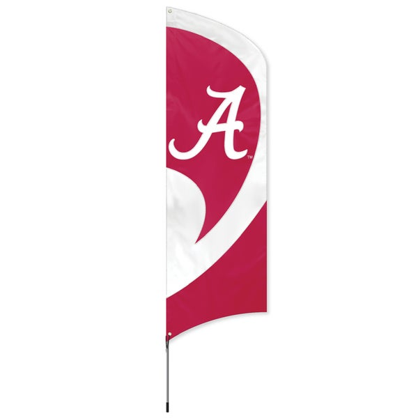 Alabama Crimson Tide 8-foot Banner Flag with Stand
