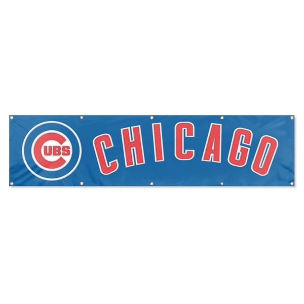 Chicago Cubs 8-foot Official Hanging Banner