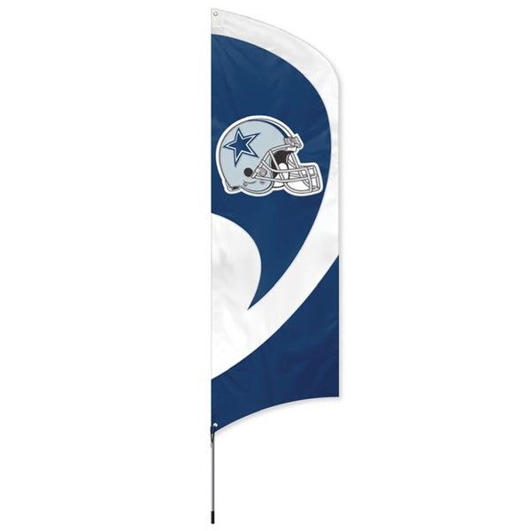 Dallas Cowboys 8-foot Team Banner Flag