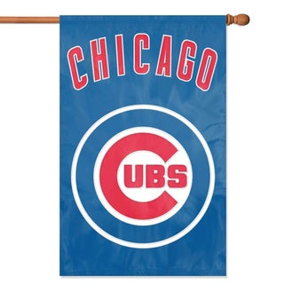 Chicago Cubs Official Banner Flag