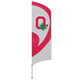 Ohio State Buckeyes 8-foot Team Banner Flag