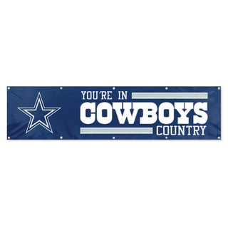 Dallas Cowboys Official Hanging Banner Flag