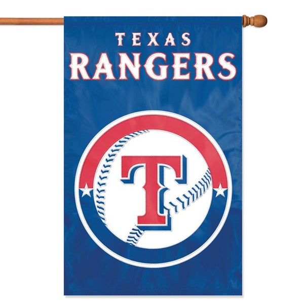 Official Texas Rangers Banner Flag