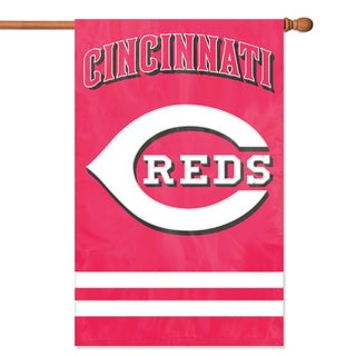 Cincinnati Reds Official Banner Flag