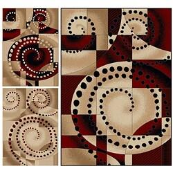 Virginia Spiral Rug (7'9 x 11')