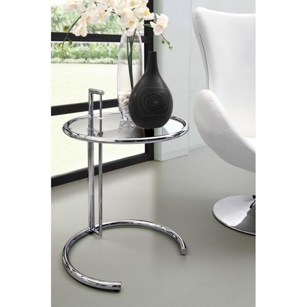 Eileen Modern Grey Glass Table 11250793 Overstock Com