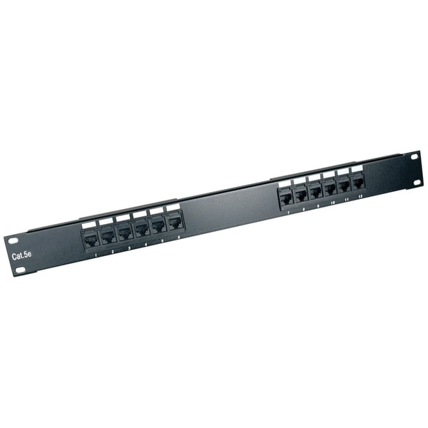 Tripp Lite 12-Port 1U Rackmount Cat6 110 Patch Panel