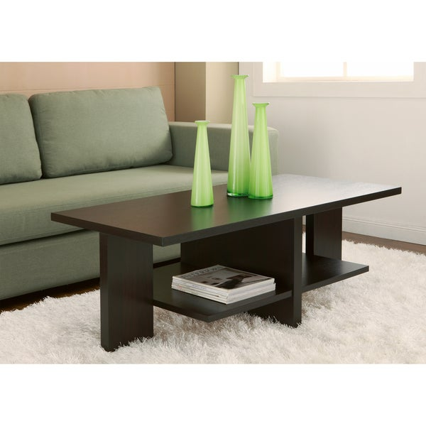 Furniture of America Classic 47-inch Wood Coffee Table