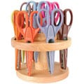 Armada 12-piece Paper Shapers/ Oak Stand Set