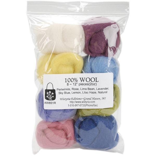 Wistyria Editions Assorted Wool Roving