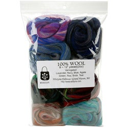 Wistyria Editions Assorted Wool Roving Package