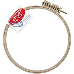 Morgan Plastic 12-inch No-slip Knitting Hoop