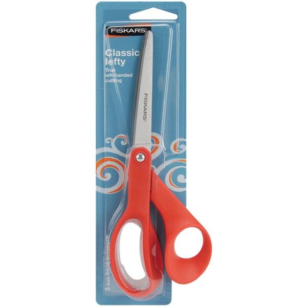 Bent 8-inch Multipurpose Left-handed Scissors