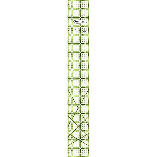 Omnigrip Non-slip Quilter's Short Strip and Sashing Ruler