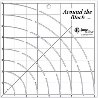 Around The Block Craft Ruler