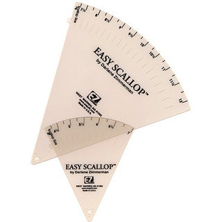 Easy Scallop Quilting Ruler Set