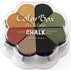 Fluid Chalk Petal Point Option Pad in Autumn Pastels (Set of 8 Colors)