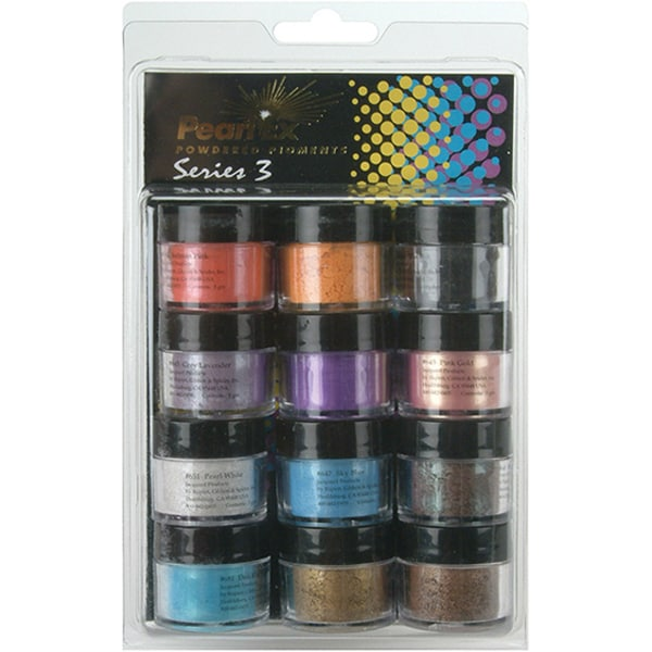 Pearl Ex Powdered Craft Pigments (Set of 12)