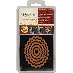 Wizard Nestabilities Scalloped Oval Die Set (Set of 5)