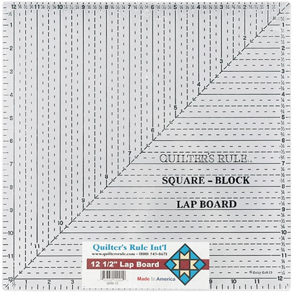 Quilter's Rule Quilters Lap Board
