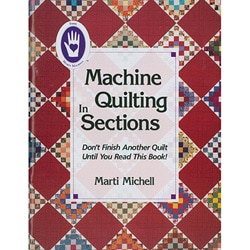 Marti Michell 'Machine Quilting in Sections' Book