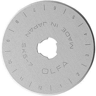 OLFA Rotary Cutter 45 mm Blades (Pack of 10)
