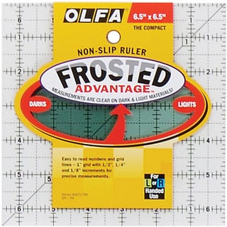 OLFA The Compact Frosted Ruler