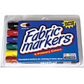 Uchida Brush Tip Fabric Markers (Pack of 6)