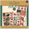 K&Company Army 12x12 Scrapbook Layouts
