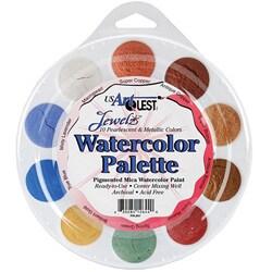 Jewelz Acid-Free Watercolor Palette