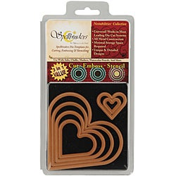 Wizard Nestabilities Classic Heart Die Set