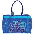 Laurel Burch Indigo Cats Arts and Crafts Travel Bag
