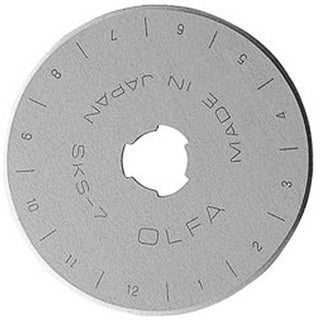 OLFA Rotary Cutter 45mm Blades (Pack of 5)