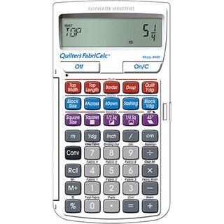 Quilter's FabriCalc Quilt Design Calculator