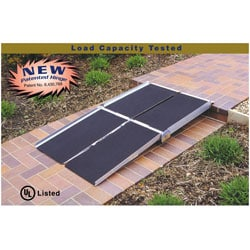 Portable 8-foot Multifold Ramp
