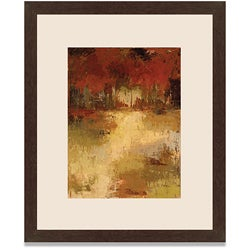 Caroline Ashton 'Fall Foliage I' Framed Art Print