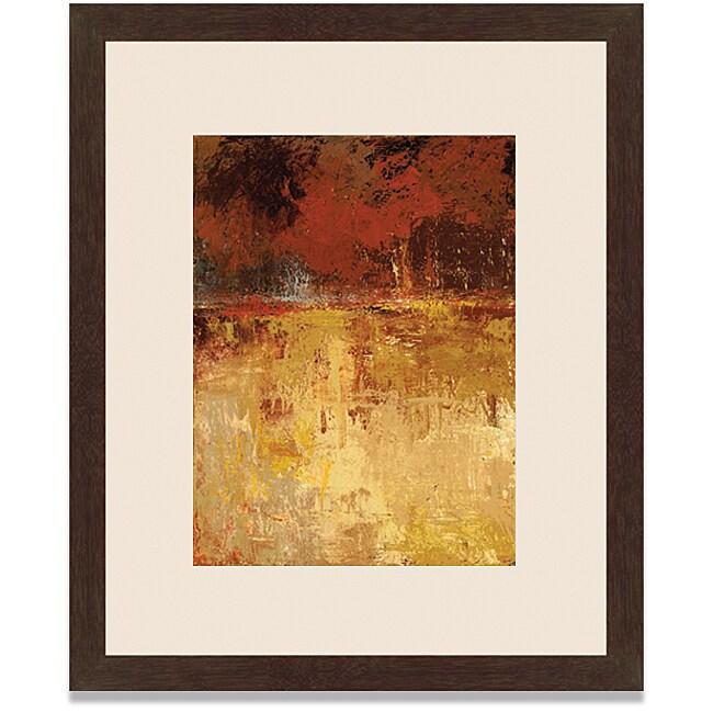 Caroline Ashton 'Fall Foliage II' Framed Art Print