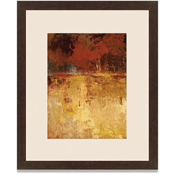 Caroline Ashton 'Fall Foliage II' Framed Art Print