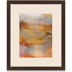 Maeve Harris 'Umber View I' Framed Art Print