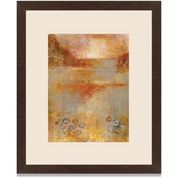 Maeve Harris 'Umber View II' Framed Art Print