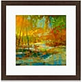 Angeli 'Late Summer's Expectation I' Framed Art Print