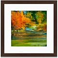 Angeli 'Late Summer's Expectation II' Framed Art Print