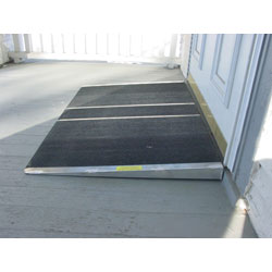 Self-supporting 2-inch Threshold Ramp
