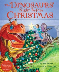 The Dinosaurs' Night Before Christmas (Hardcover)