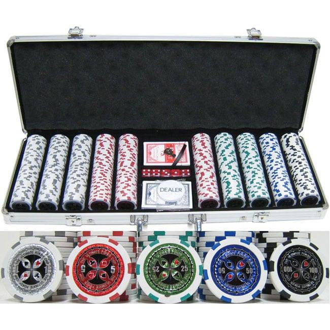poker chip set 500