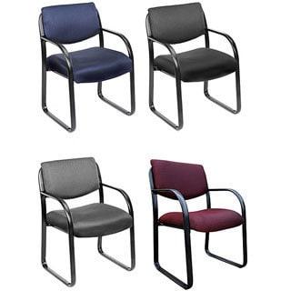 Boss Steel Frame Fabric Guest Chair